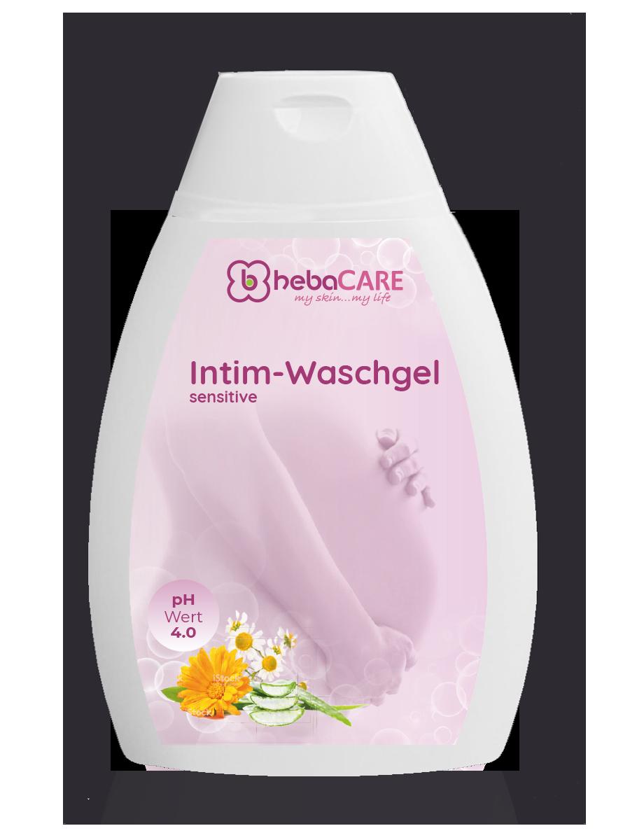 hebaCARE Intim-Waschgel sensitiv