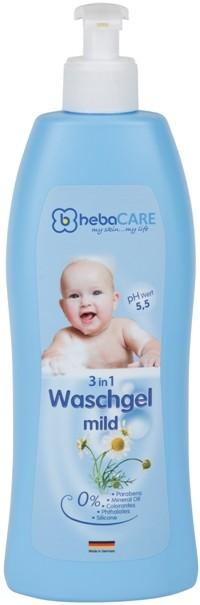 hebaCARE 3 in 1 Waschgel mild