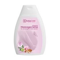 hebaCARE Pflegende Massagecreme für schwangere Frauen sensitiv